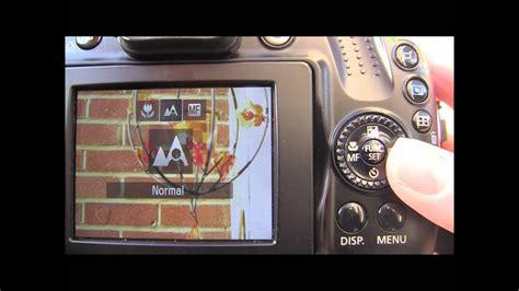 Canon Powershot Sx40 Hs Tutorial Step Seven Manual