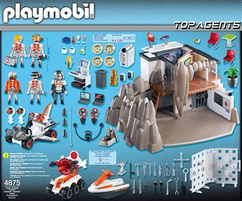playmobil secret agent boat playmobil top agents playmobil 4875 στρατιωτικό καταφύγιο