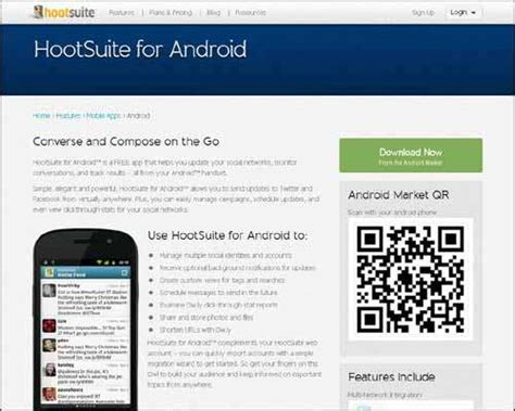 hootsuite for android list of 25 top websites for free android apps 2014 freakify