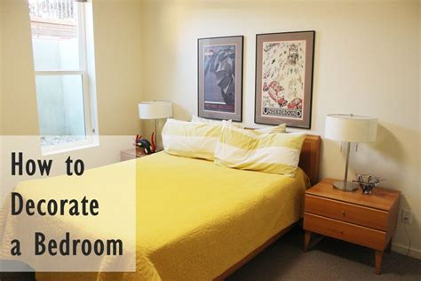 How To Decorate A Small Bedroom On A Budget | how to decorate a bedroom simply and with style