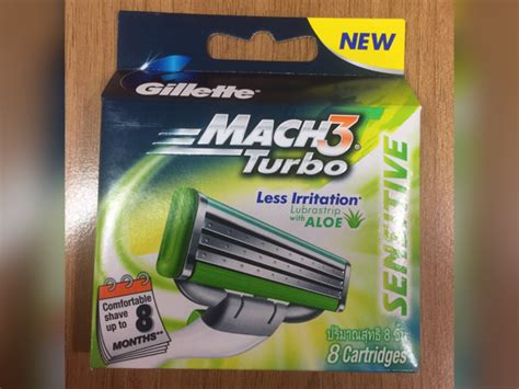 Refill Isi Gillette Mach3 Isi 8 Aif612 gillette mach 3 turbo isi 8