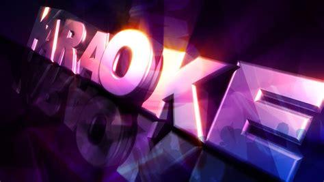 top collection of karaoke wallpapers karaoke wallpapers karaoke 3d text stock footage video 1758698 shutterstock
