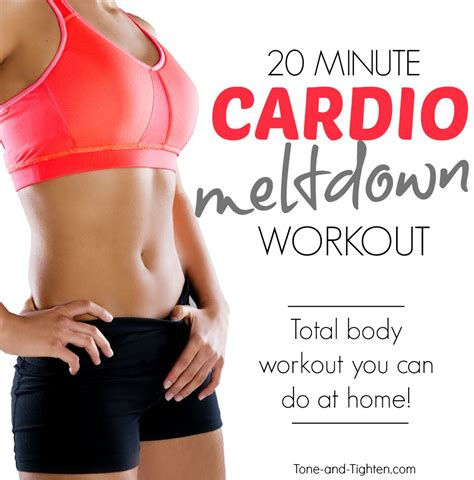 20 minute blasting workout at home tone and tighten