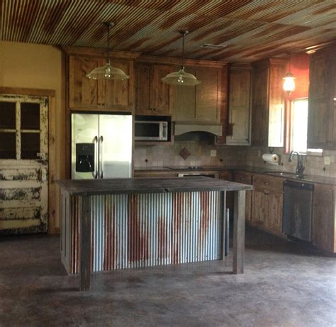 Kitchens With Tin Ceilings by Rustic Kitchen With Door For Pantry Door Custom Made