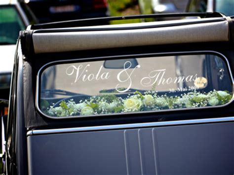 Autoaufkleber Baby Entfernen by Aufkleber F 252 R Das Hochzeitsauto Autoaufkleber Hochzeit