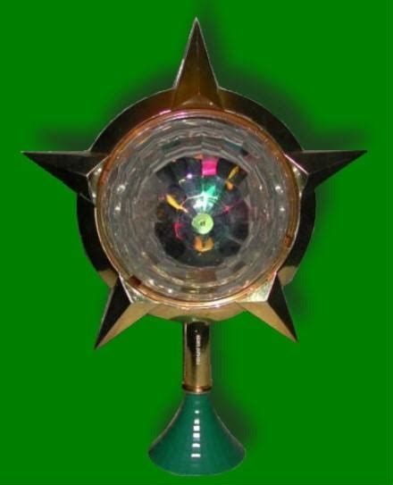 bradford quot celestial lights quot christmas tree topper