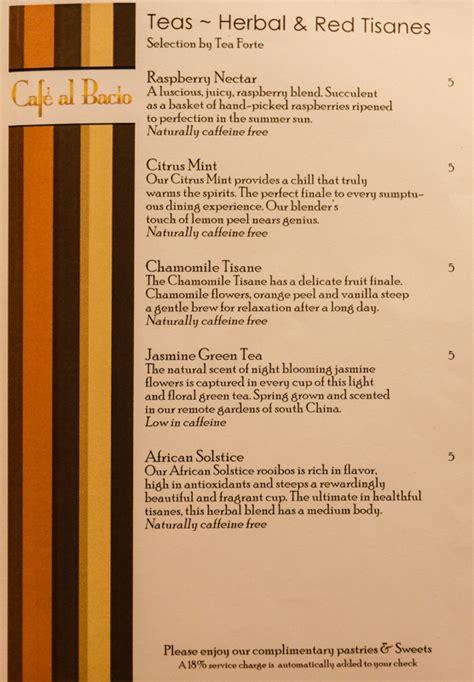 eclipse room service menu eclipse so caribbean menus news