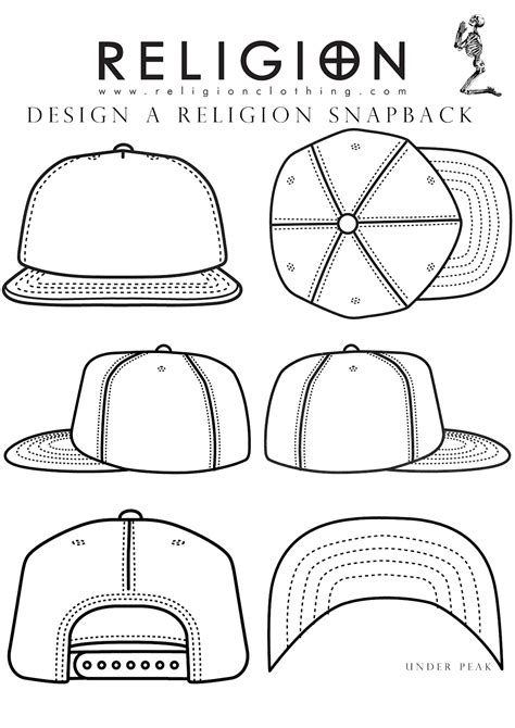 hat design template snapback template i can do it design garment