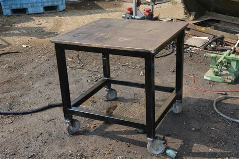 Welding Table For Sale by Heavy Duty Welding Table 3 4 Quot Thick 32x30x32 Quot On Casters
