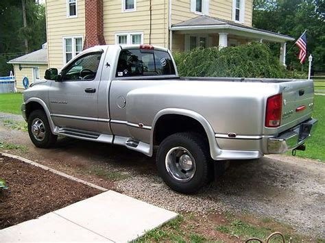 how does cars work 2003 dodge ram 3500 parking system buy used 2003 dodge ram 3500 dually slt 5 7 hemi with 9 5 foot snow plow and new tires in