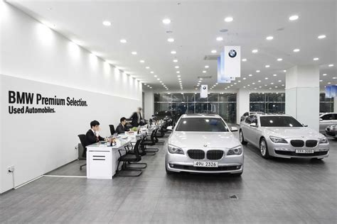 bmw showroom exterior bmw korea to open premium selection pre owned car