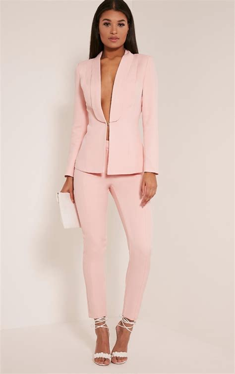 Gamis Fashion Chanel pink suit trousers up your fashion and channel masculine feminine style vibes with a pair o