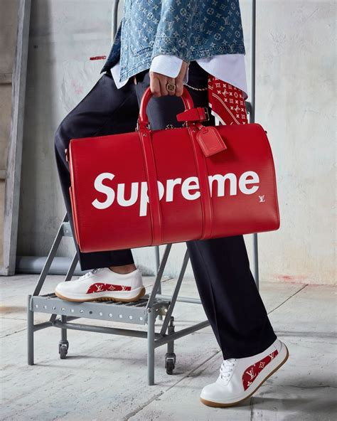 store supreme louis vuitton and supreme launch pop up shop in