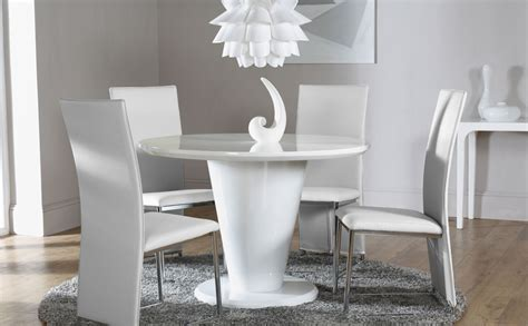 High Gloss Dining Table And Chairs Marceladick Com Hi Gloss Dining Table