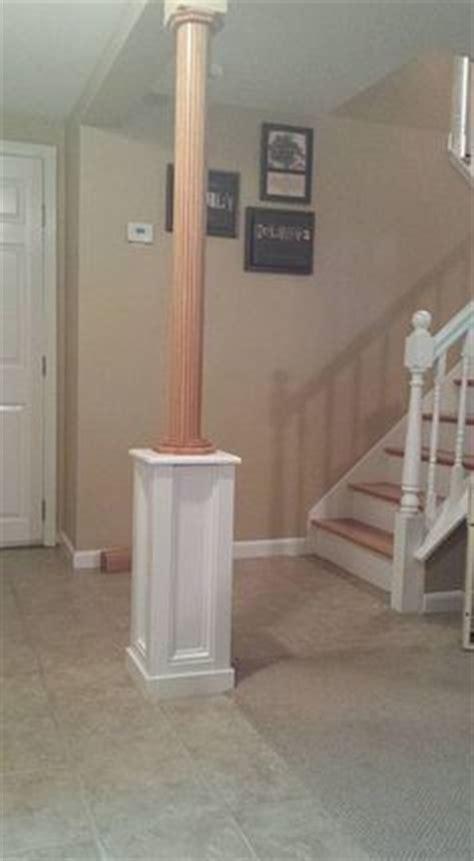 basement column covers 1000 basement pole ideas on basement flooring