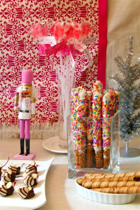 images  nutcracker birthday party ideas  pinterest ballerina birthday pink