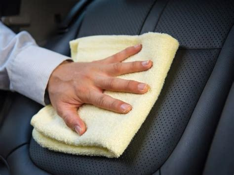 diy leather cleaner how to clean leather car seats diy