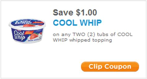 Cool Whip Coupons | new holiday kraft printable coupons