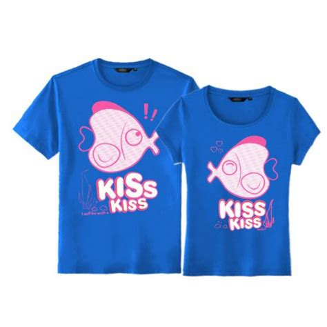 Matching Clothes For Couples For Sale Matching Fish T Shirts For Sale Set Of Two