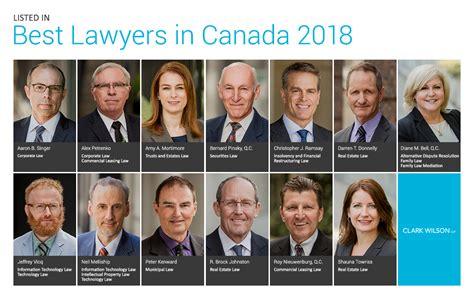 best lawyers best lawyers in canada 2018