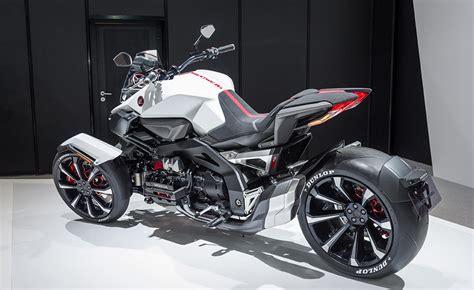 Dreirad Motorrad Honda by Honda Neowing Leaning Three Wheeler Hybrid Concept