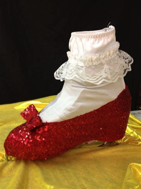 ruby slipper shoe covers 156 best images about wizard of oz costumes on