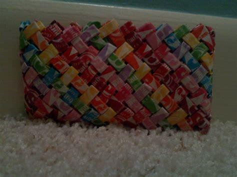 Starburst Wrapper Origami - starburst wrapper mini wallet my crafts