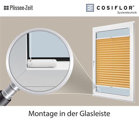 Plissee Schmale Glasleiste by Plissee Fr Schmale Glasleiste Gallery Of Montage Des