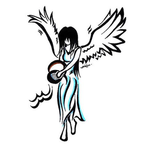 pin up angel tattoo designs pin up design