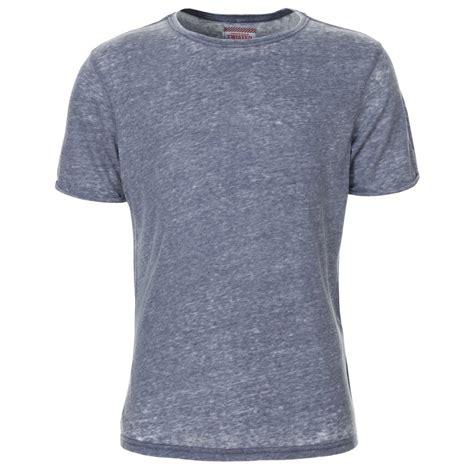 Plain Shirt mens denim blue marl plain t shirt