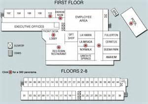 inn floor plans floor plan inn of la mirada