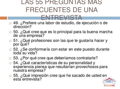 preguntas entrevista del sena entrevista curso empleabilidad fumdir