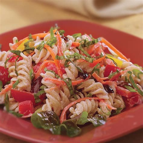Garden Vegetable Pasta Salad Garden Pasta Salad Recipe Eatingwell