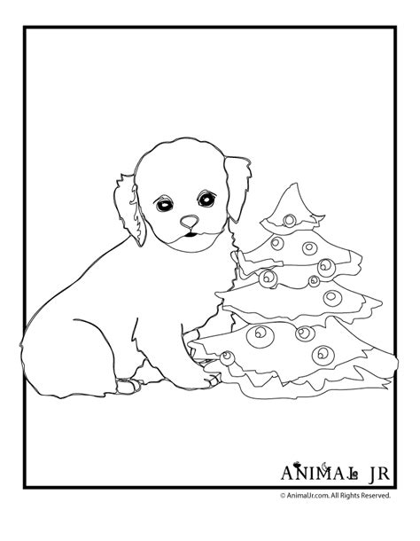 christmas coloring pages of puppies christmas puppies coloring pages coloring home