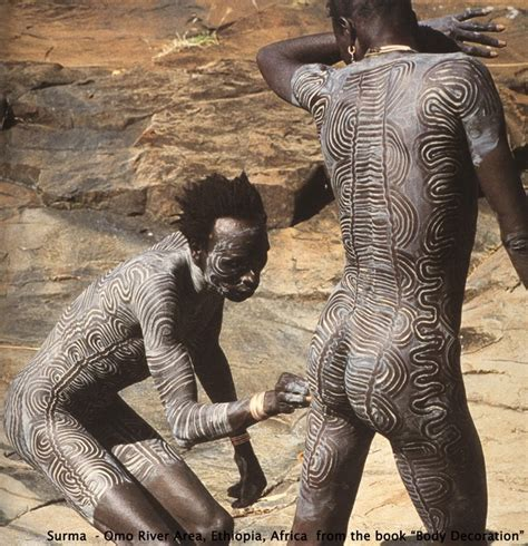 why body paint 1 collaboration painting the mangbetu