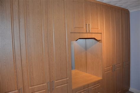fitted wardrobe from acrylic mdf
