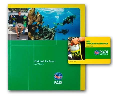 Padi Enriched Air Specialty Manual