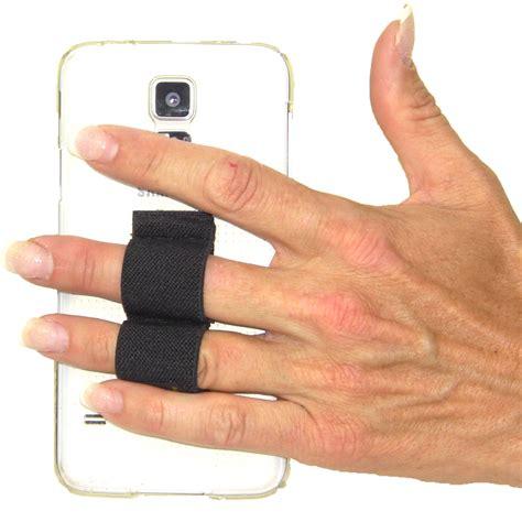 2 loop phone grip black lazy comlazy