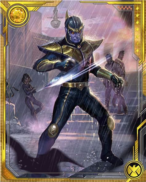 marvel woh card template rpgotg what if thanos marvel war of heroes