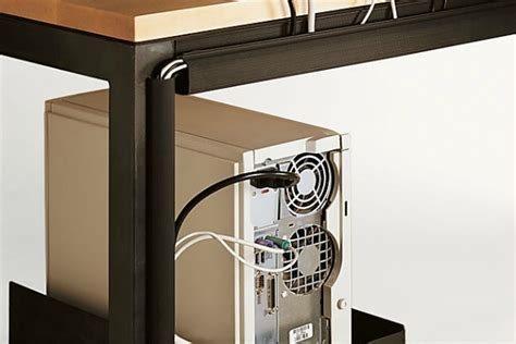 desk cable management solutions 4 ways to disguise unsightly cords