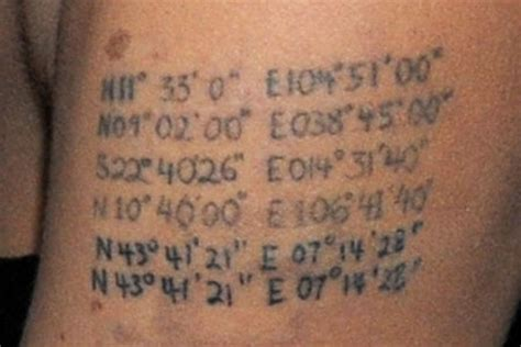 angelina jolie tattoo latitude longitude angelina s new tats for twins metro news