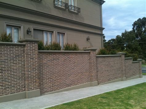 how to design the wall at home brick wall fence designs home design ideas