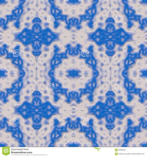 enchanted blue and white abstract stone rock d art by seamless colored pattern created and rendered in 3d