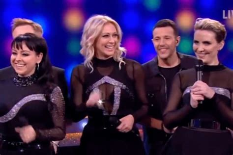 steps singer claire richards shows amazing new figure claire richards stuns saturday night takeaway fans with
