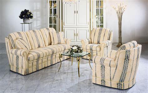 sofa klassisch classic upholstered suite alassio finkeldei