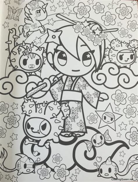 Awesome Tokidoki Donutella Coloring Pages Ideas Tokidoki Coloring Pages