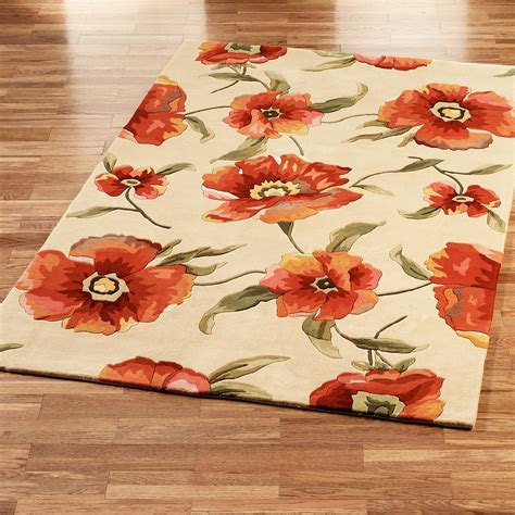 Poppy Kitchen Rug Poppy Area Rug Smileydot Us