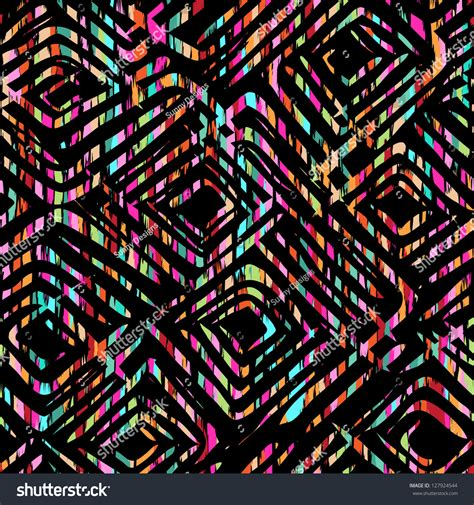 colorful wallpapers tribal very colorful tribal design seamless background stock