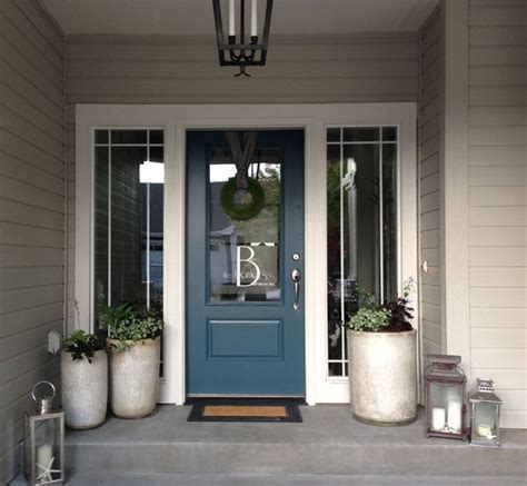 image result for blue gray paint colors exterior modern house doors blue gray