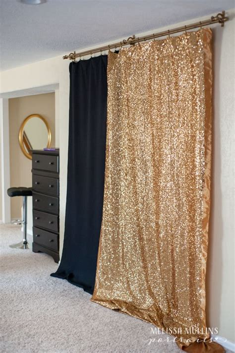 shower curtain backdrop use double shower curtain rod for backdrop options